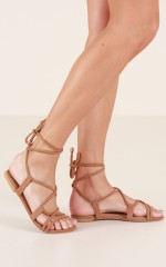 Billini - Dolce Sandals in tan micro