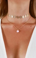 Happy Together necklace in gold