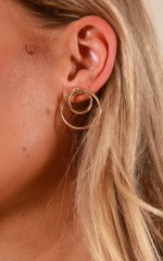 Nice To You earrings in gold
