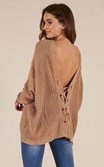 Own It knit in beige