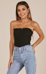 Vision Of Love top in black