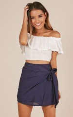 Know My Heart skirt in navy