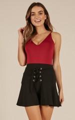 Like Crazy skirt in black