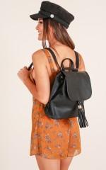 Rose Butter backpack in black