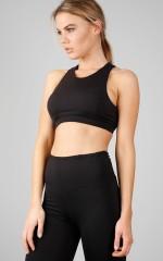 Sucker Punch sports bra in black