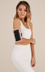 Workout Armband in pink
