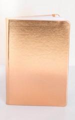 Showpo Note Book in rose gold