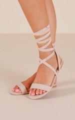 Billini - Devyn Sandals in blush micro