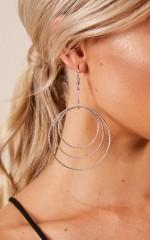 Shining Bright earrings in  silver