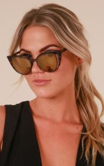 Space For Us sunglasses in tortoiseshell