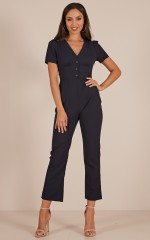 Keep In Mind jumpsuit in navy