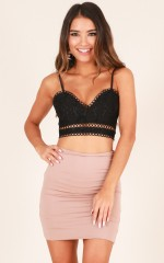Visibility top in black