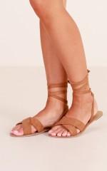 Billini - Maiko Sandals in tan micro