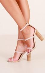 Billini - Lapaz Heels in blush micro