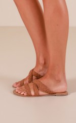 Billini - Malta Flats in tan suede