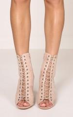 Billini - Bambi Boots in blush micro