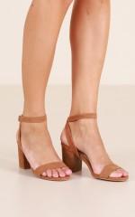 Billini - Carlina Heels in tan micro