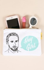 Famous Flames Accessory Pouch - Hey Girl