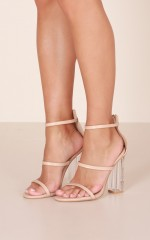 Billini - Isla Heels in nude