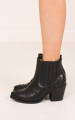 Therapy Shoes - Meadow in black