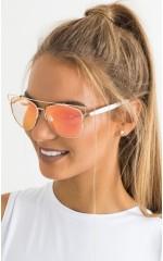 Major Shade sunglasses in gold