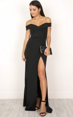 One For The Money dress in black