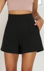 Passenger shorts in black