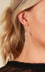 Like It Better earrings in silver