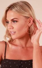 Good Behaviour earrings in gold