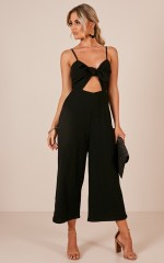 Warm Feelings jumpsuit in black