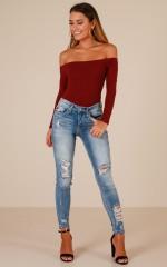 Raina skinny jeans in light wash