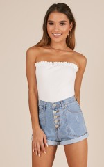 Vision Of Love top in white
