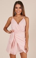 Lost At Sea dress in blush