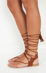 Billini - Minski in dark tan suede