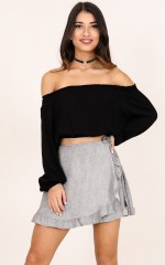 All A Dream skirt in charcoal