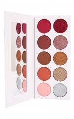 Glam eyeshadow palette in sparkling sangria