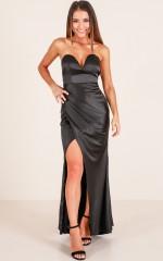 Mercury Retrograde maxi dress in black