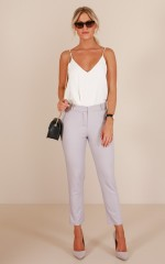 Overtime pants in grey