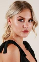 Baby Love earrings in gold