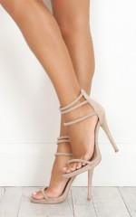 Billini - Dephi Heels in nude micro