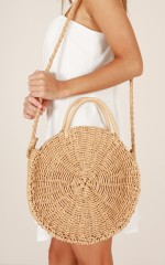 Honey Pot bag in tan