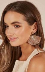 Lovebug earrings in gold