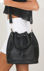 Dream Time Bag in black