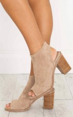 Therapy Shoes - Volente Boots in camel