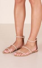 Billini - Unique Sandals in nude micro
