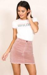 All My Secrets skirt in blush