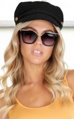 Evelyn sunglasses in black