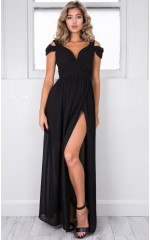 Stand Close dress in black
