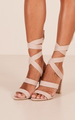 Billini - Geneva in blush suede