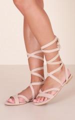 Billini - Daska Sandals in nude micro
